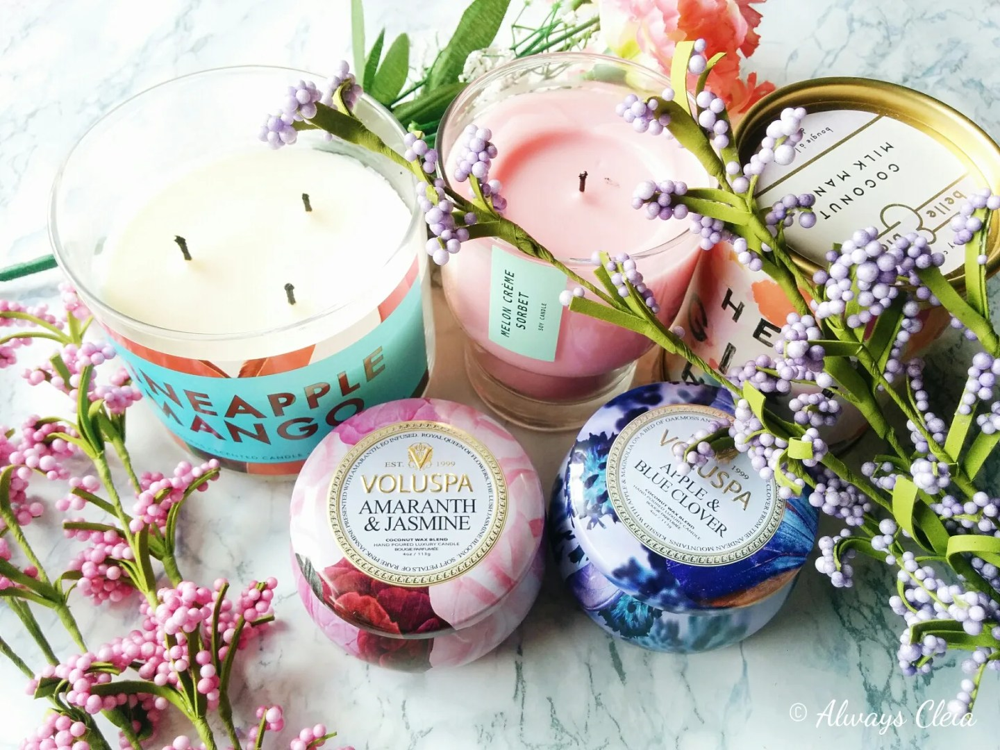 Top 5 Candles For Spring