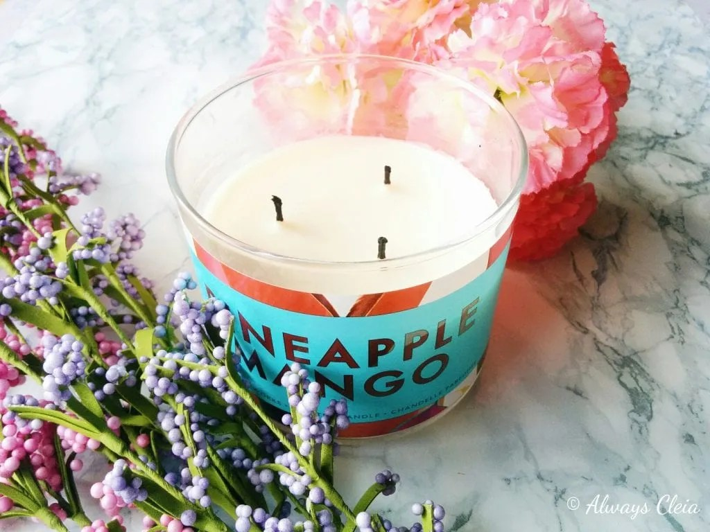 Top 5 Candles For Spring: B&BW Pineapple Mango