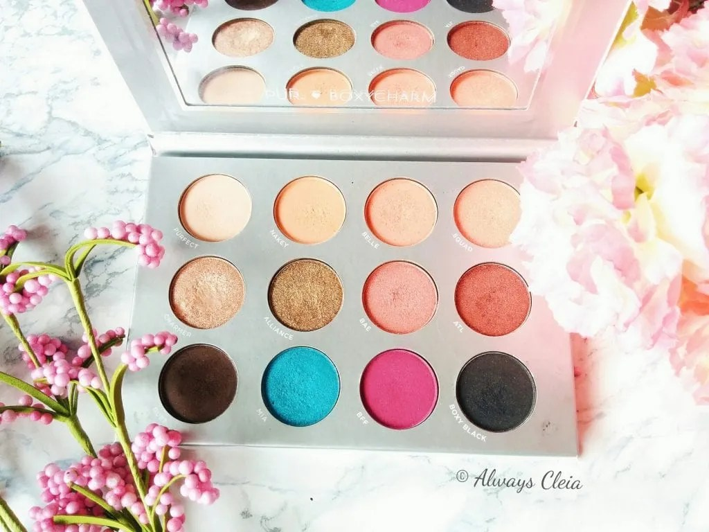 Pür X Boxycharm Palette Colour Story