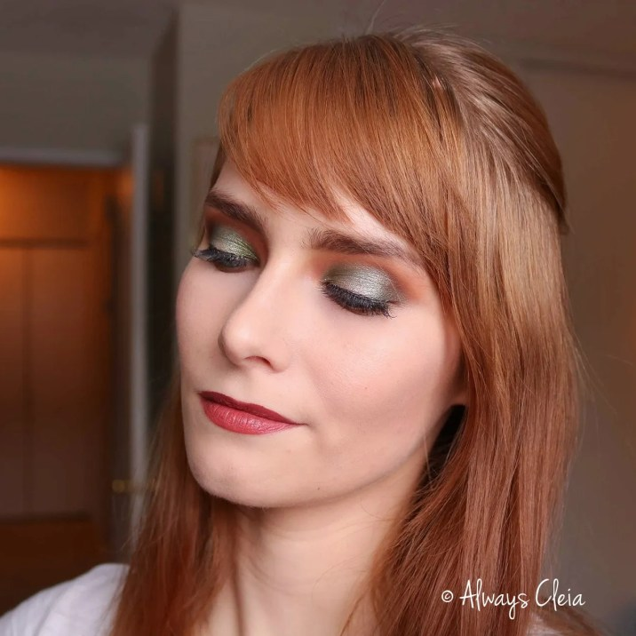Juvia's Place Nubian 2 Slytherin Makeup Look