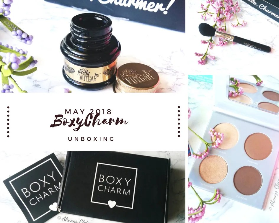May Boxycharm Unboxing + Review _ 2018