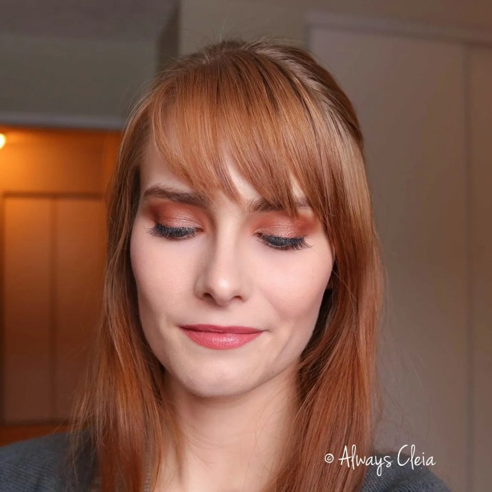 Daytime Bronze Makeup Look