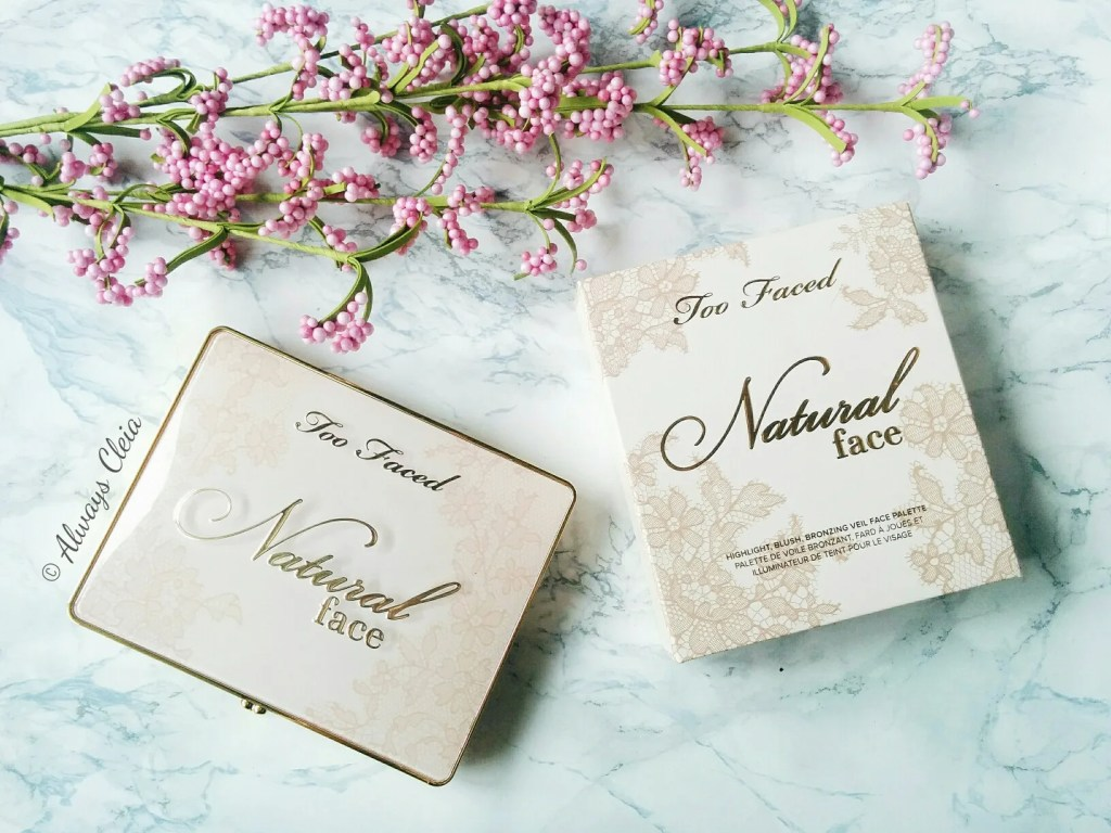 Too Faced Natural Face Palette Packaging | Review