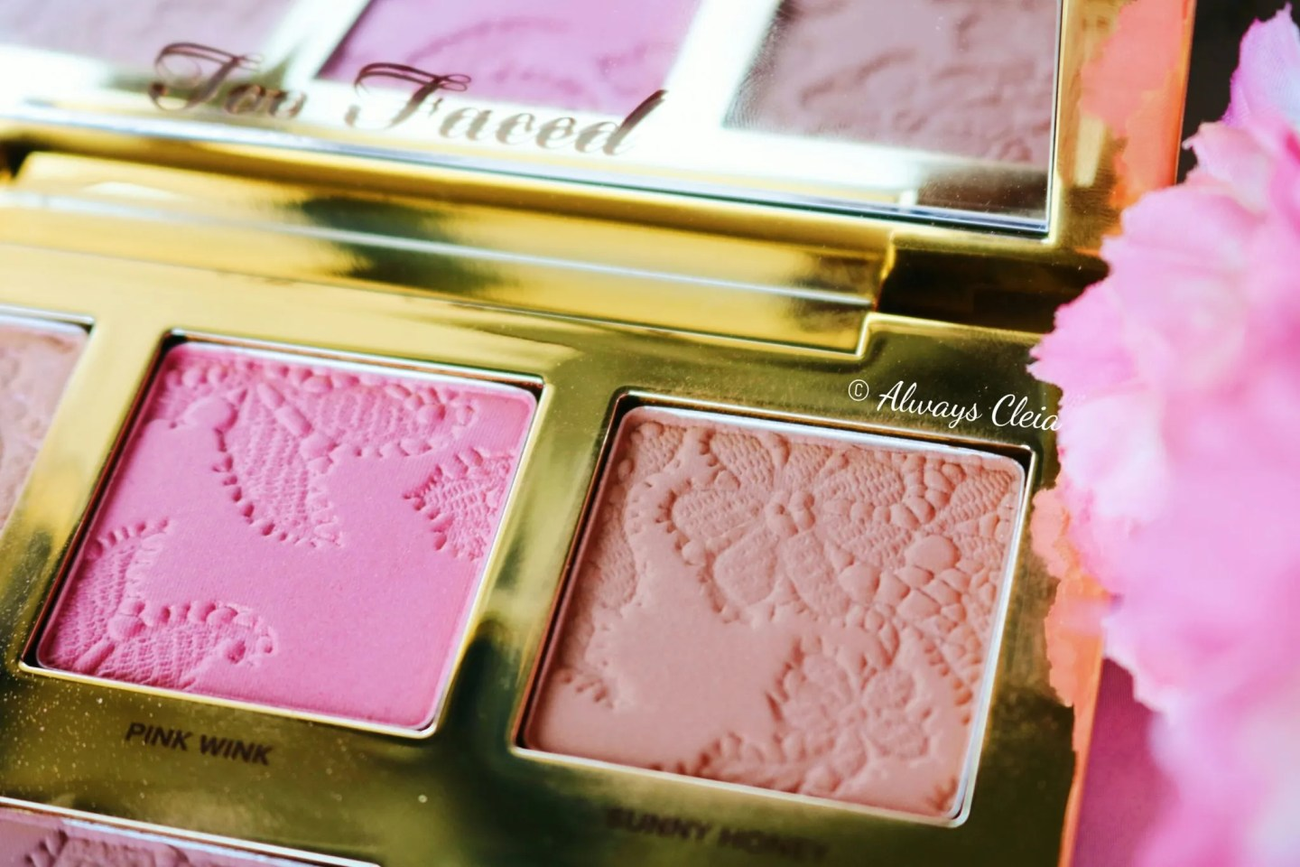 Too Faced Natural Face Palette - Pink Wink & Sunny Honey