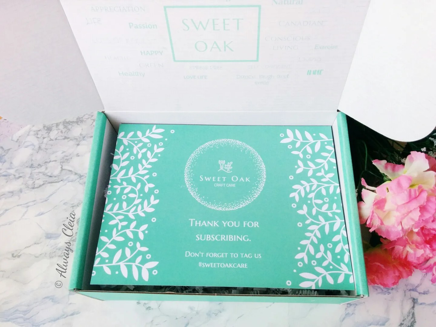 Sweet Oak Craft Care Canadian Subscription Box
