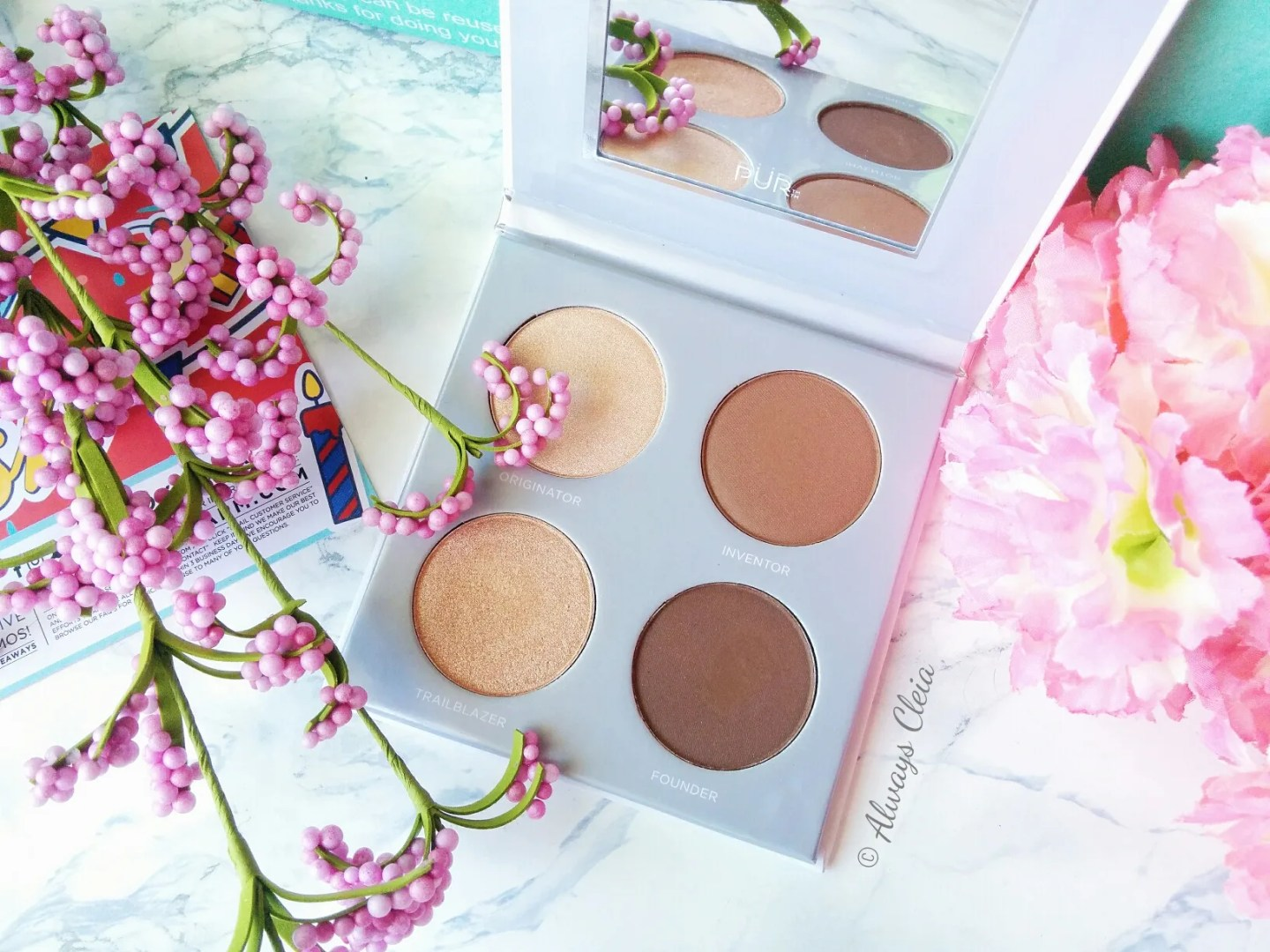 May Boxycharm 2018 | Pur Cosmetics Sculptor Palette