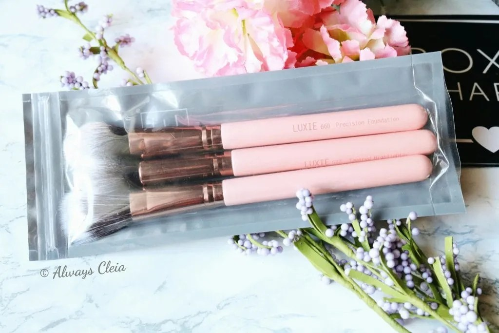 Luxie Brush Trio | Boxycharm