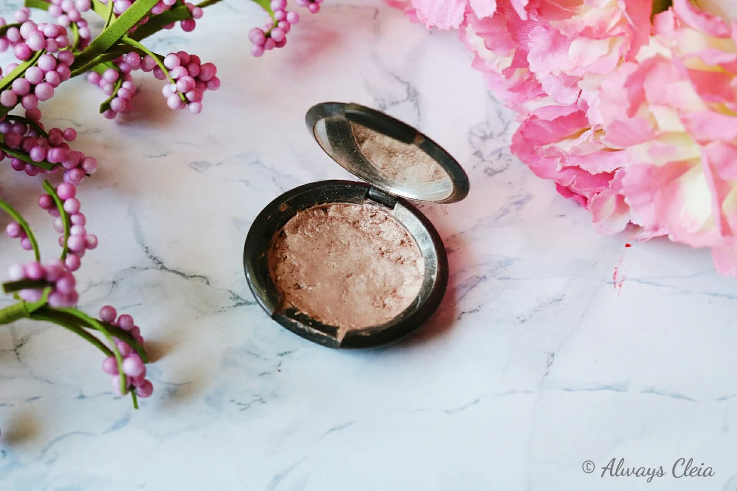 Becca Pressed Highlighter In Opal | If I Could Only Keep One Makeup Tag
