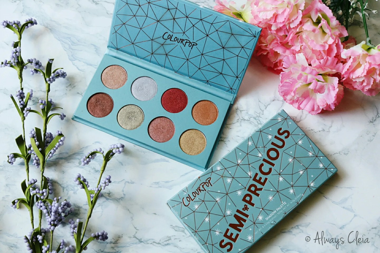 ColourPop Semi Precious Palette Review