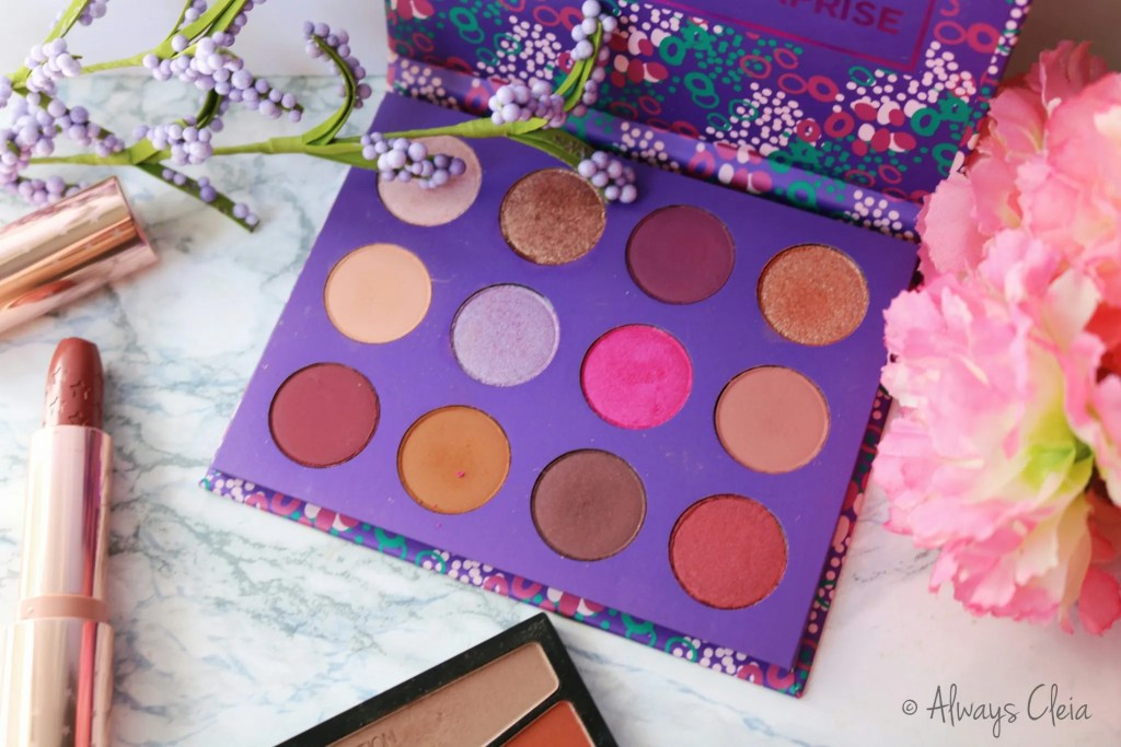 ColourPop Element Of Surprise Palette Review