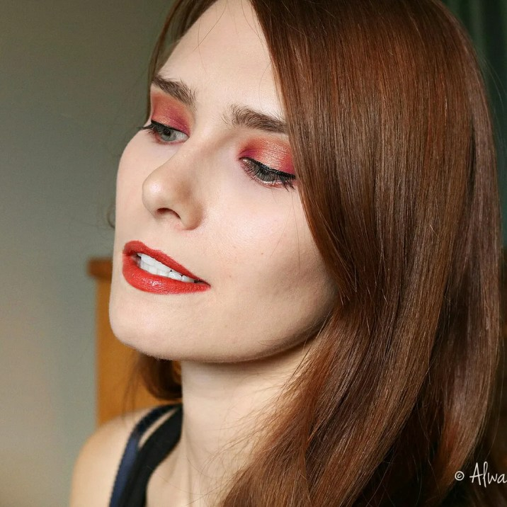 Ring Of Fire Makeup Look