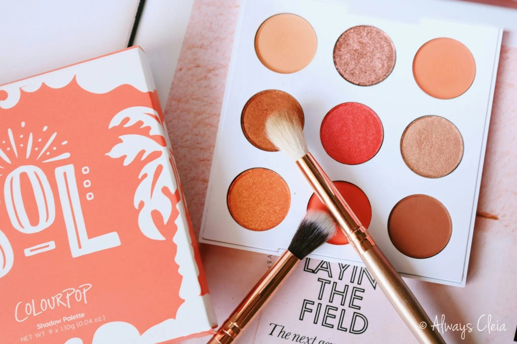 Sol Palette Review | Packaging