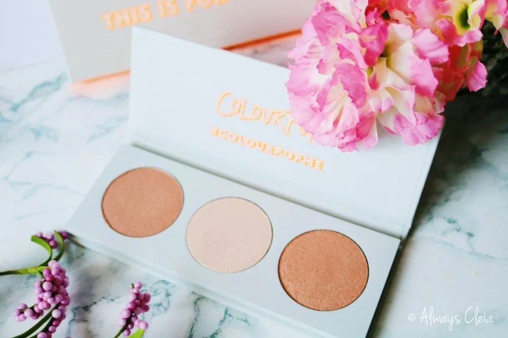 ColourPop This Is For You Highlighter Palette