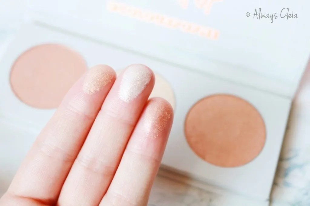ColourPop This Is For You Highlighter Palette Swatches