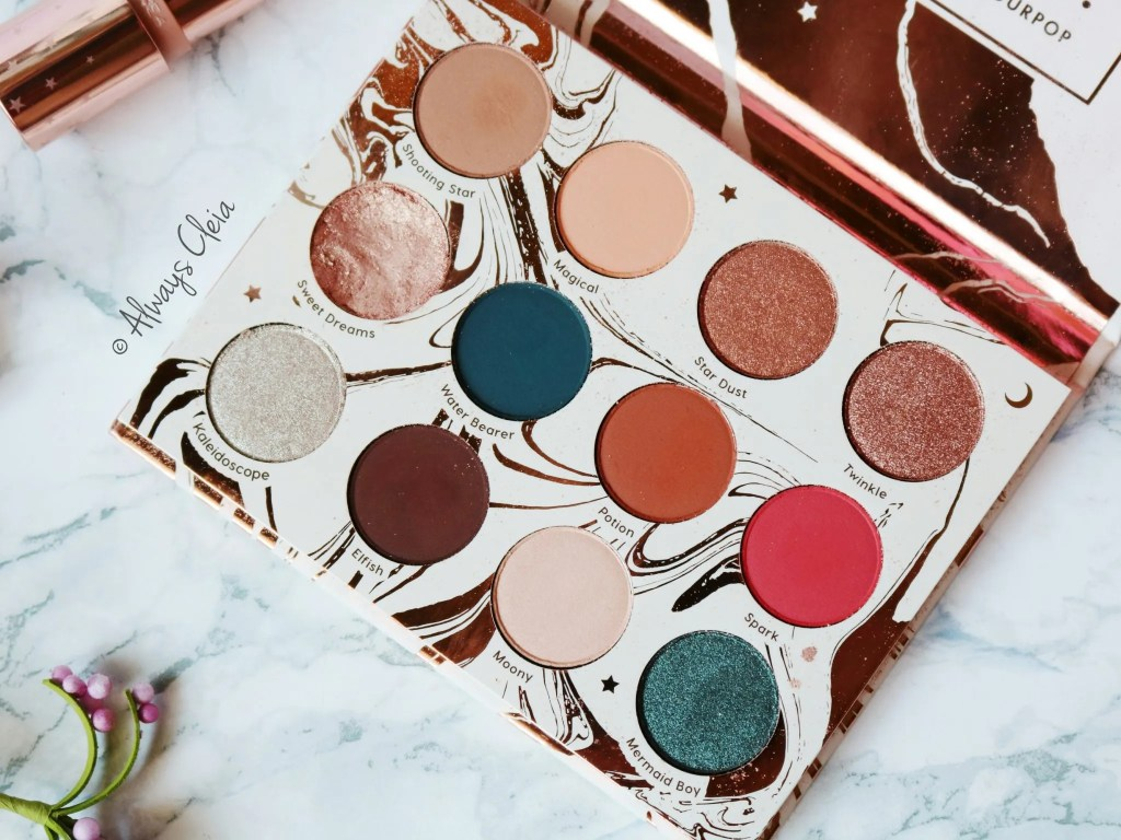 ColourPop Dream St. Palette Review