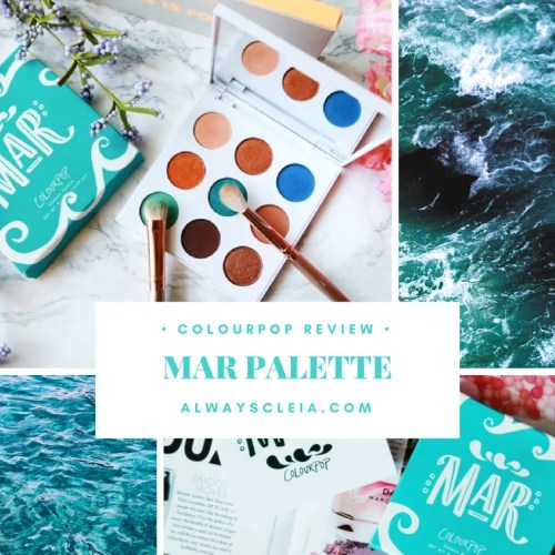 ColourPop MAR Palette Review + 3 Looks
