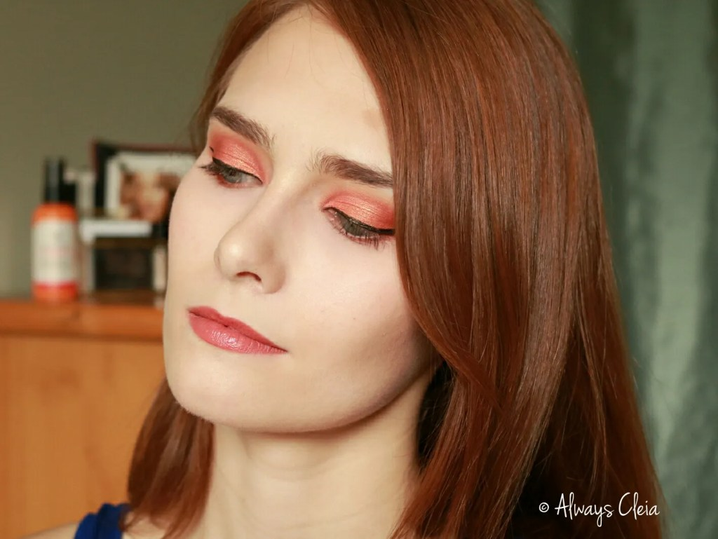 SOL Palette Orange Grove Makeup Look