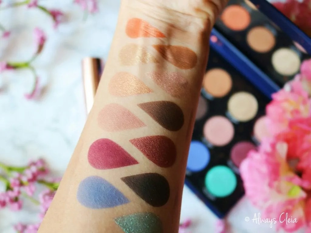 ColourPop Zodiac Palette Swatches