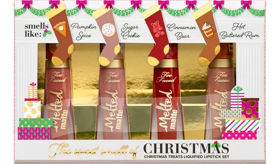 Too Faced Christmas Treats Liquified Lipstick Set