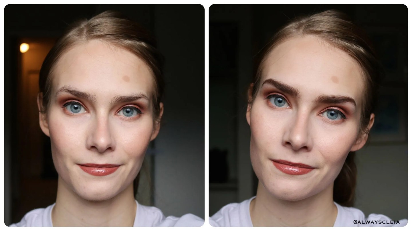 Benefit Precisely My Brow Before & After