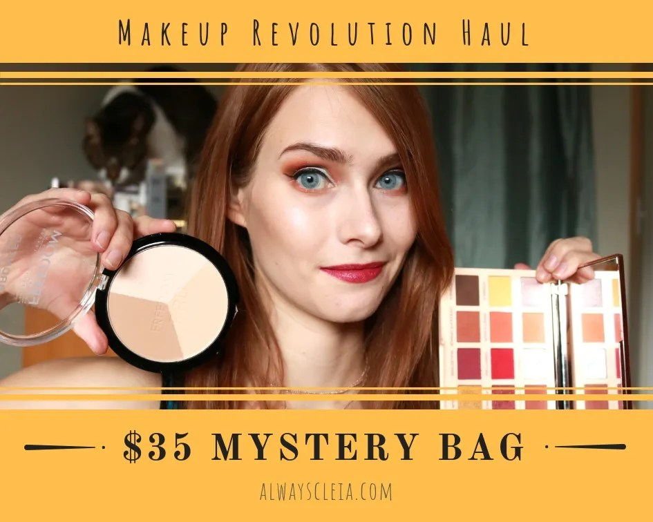 Makeup Revolution Haul - $35 Mystery Bag