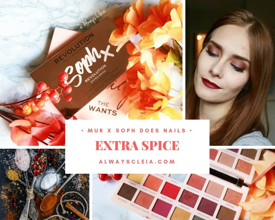 Makeup Revolution Soph Extra Spice Palette Review + 3 Looks