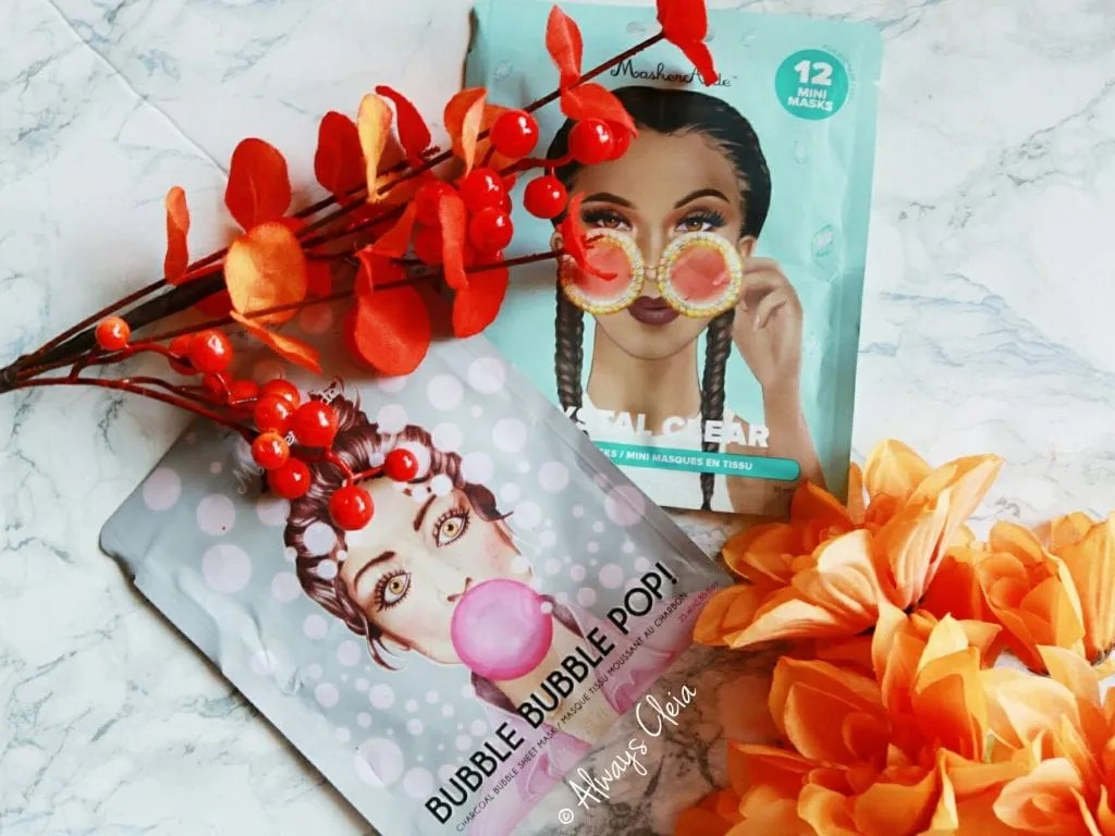 Makseraide Bubble Sheet Masks Topbox Just Treats Limited Edition Box 2018