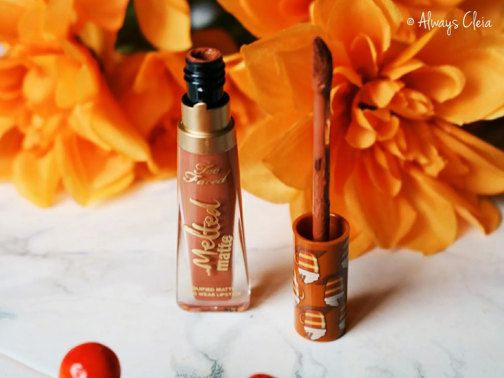 Too Faced Hot Buttered Rum Lipstick | Sweet Smell Of Christmas