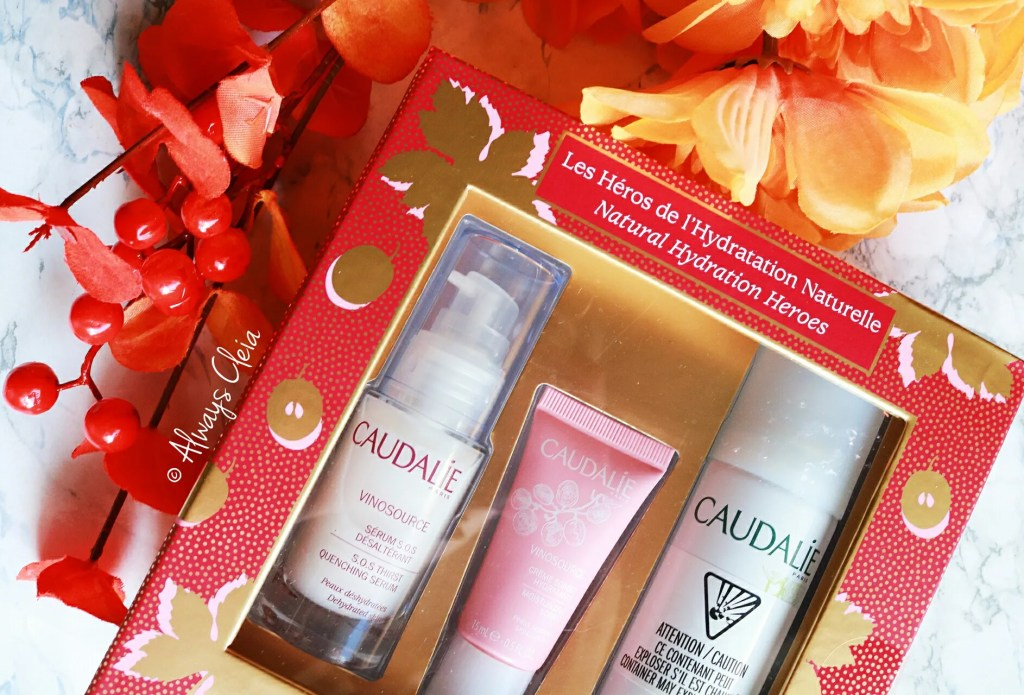 Fall Sephora Haul | Caudalie Natural Hydratng Heroes Set