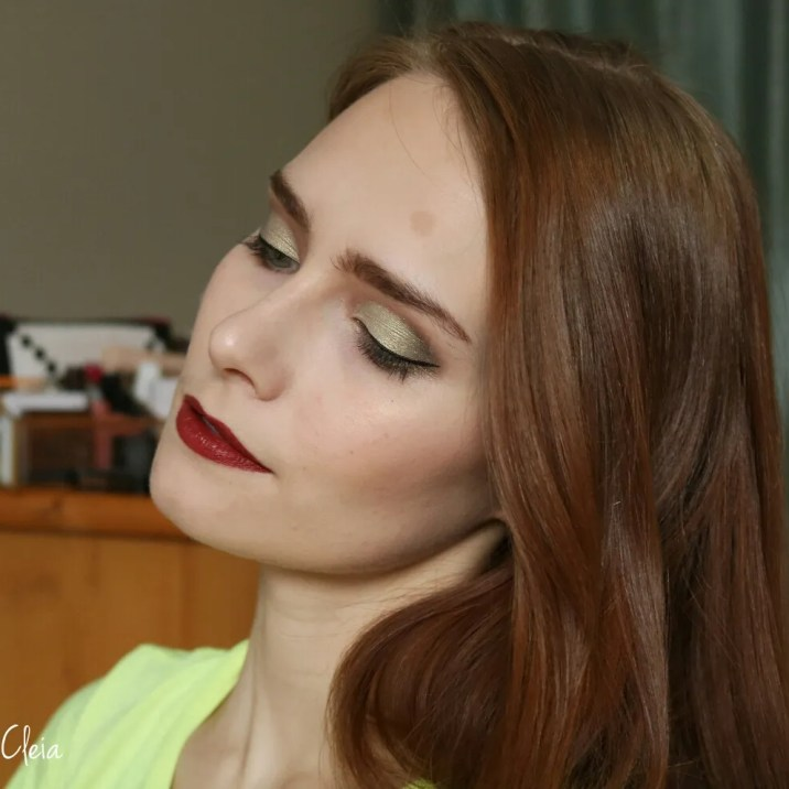 Makeup Revolution x Emily the wants palette Makeup Look 2