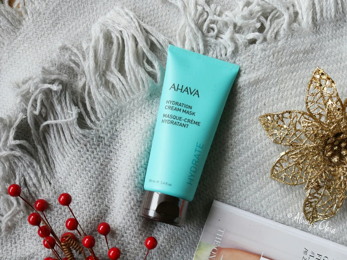 Fabfitfun AHAVA Hydration Cream Mask