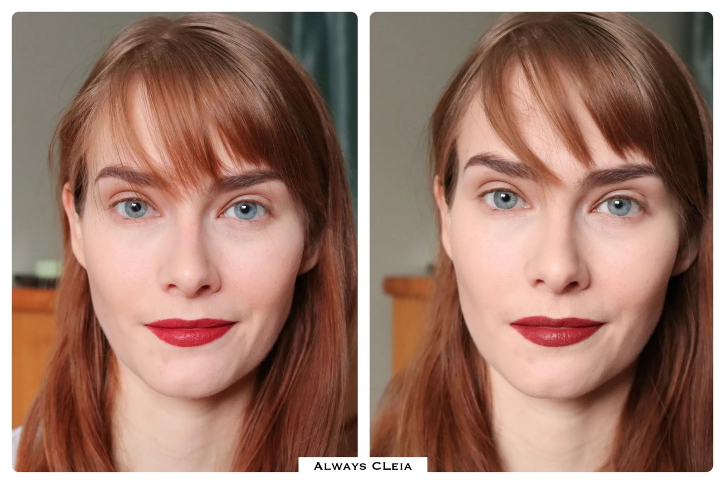 Laura Mercier Translucent Setting Powder Glow Before & After