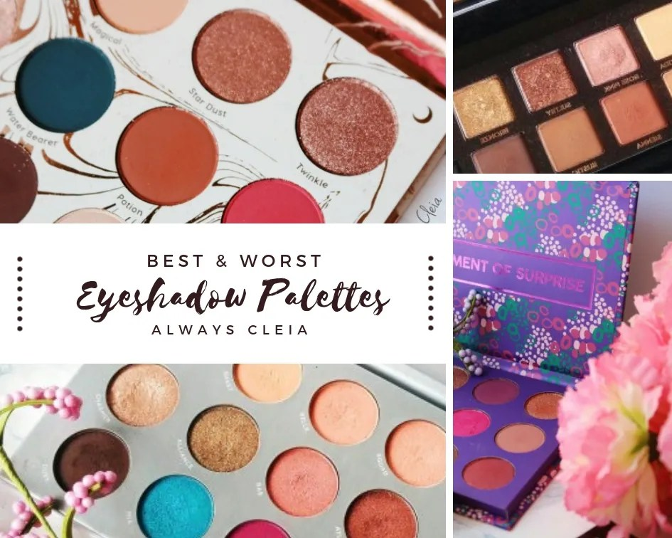 Best And Worst Eyeshadow Palettes | Top 3 Bottom 3