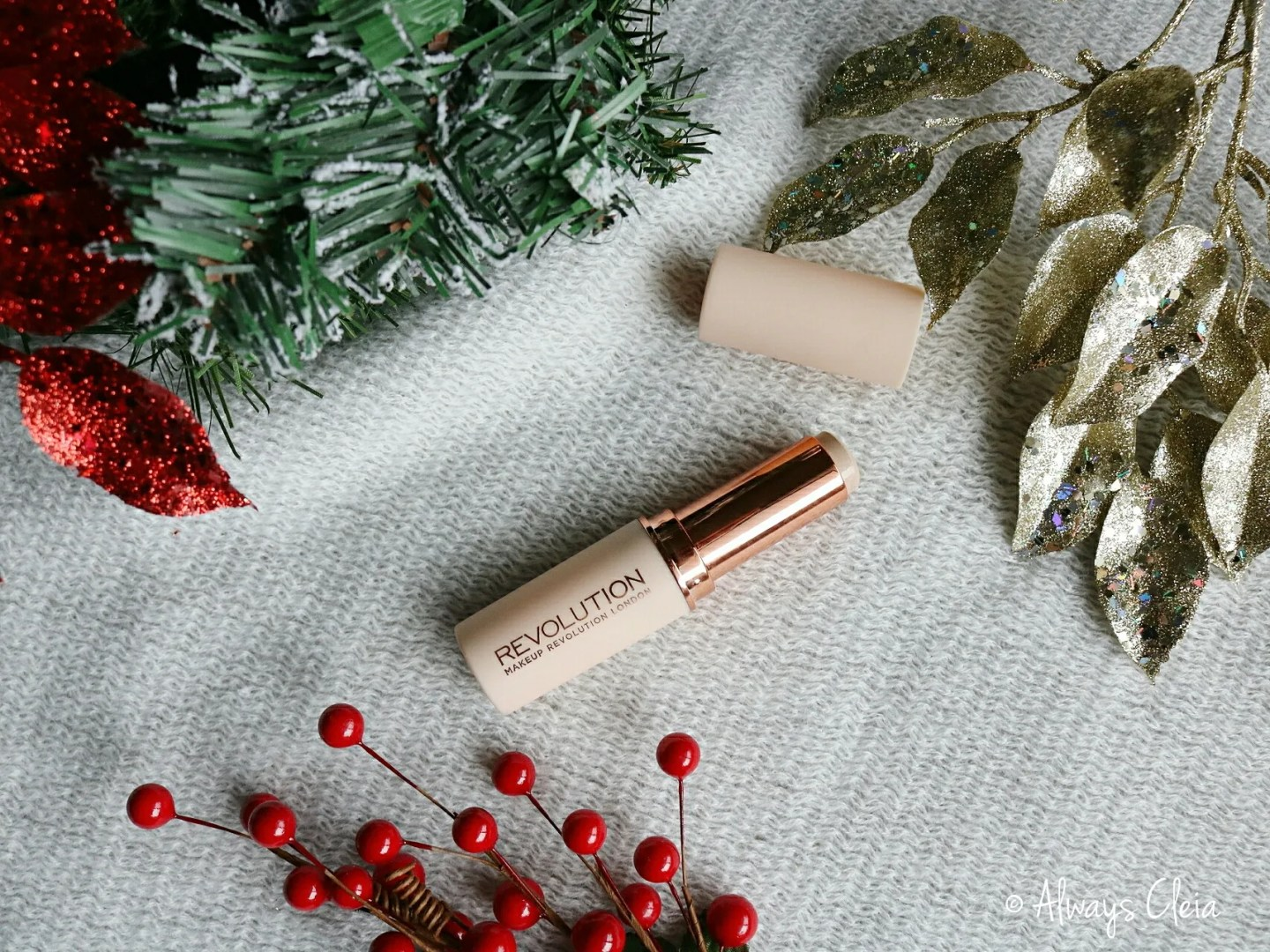 Makeup Revolution Fast Base Stick Foundation Review Packaging
