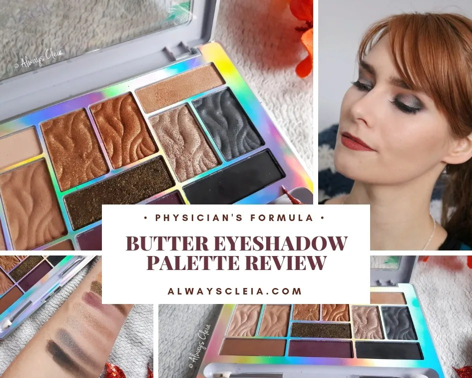 Physician's Formula Butter Eyeshadow Palette Review | Sultry Nights