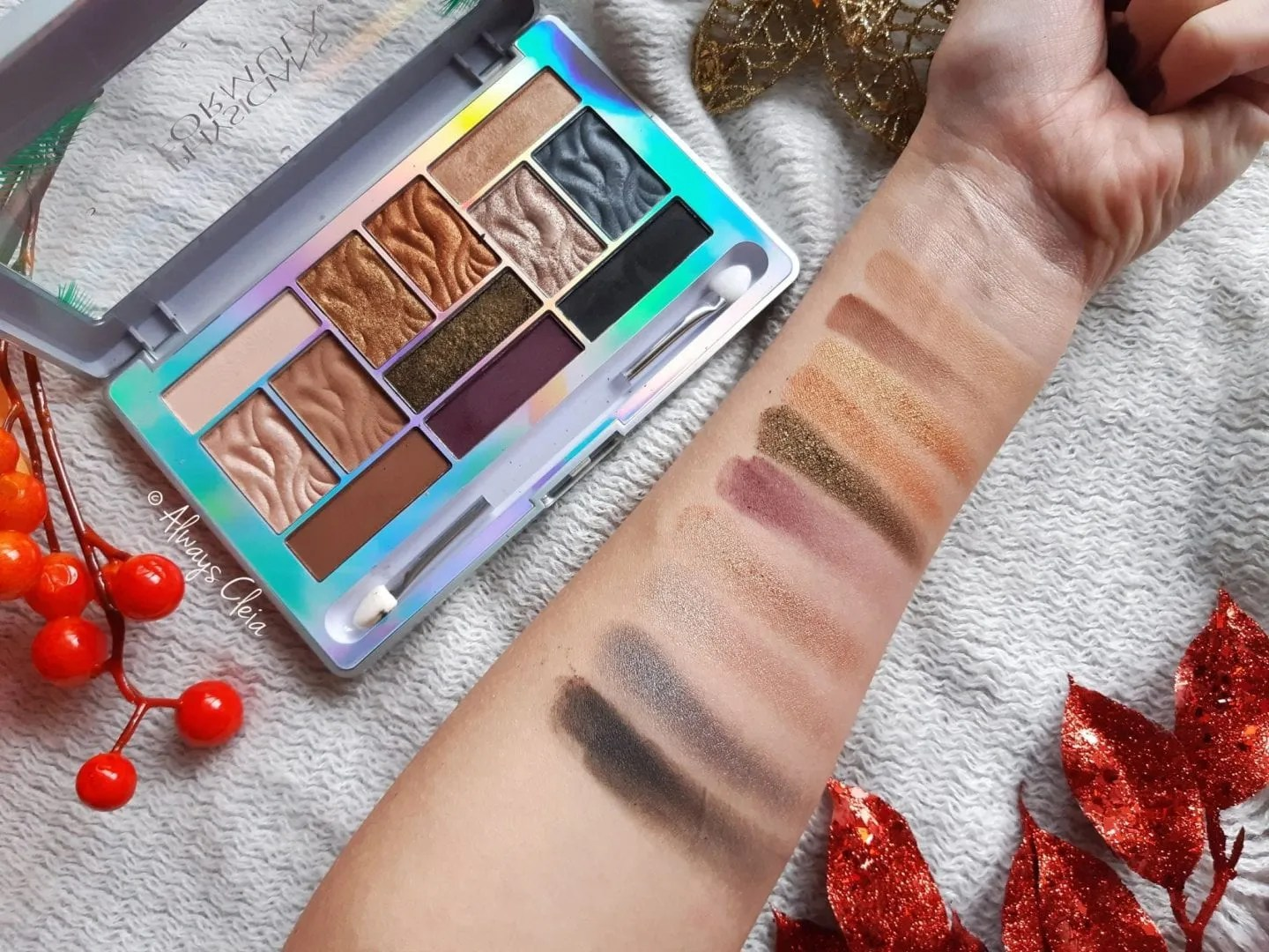 Sultry Nights Physician's Formula Butter Eyeshadow Palette Swatches