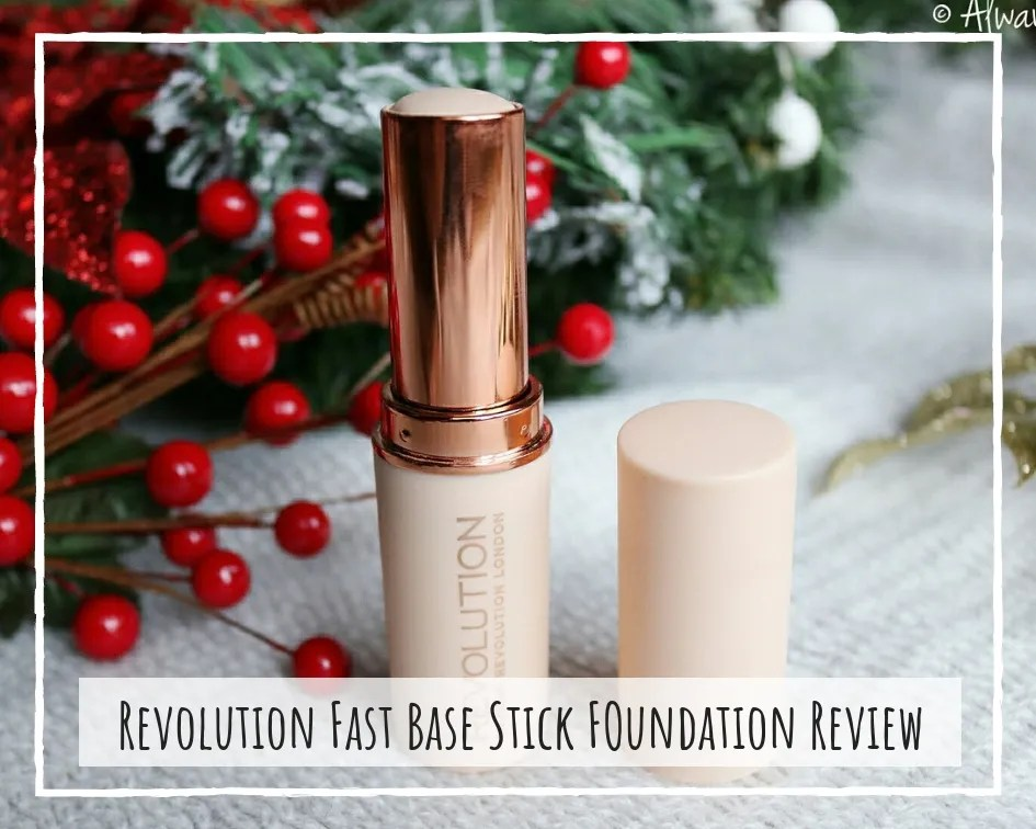 Makeup Revolution Fast Base Stick Foundation Review