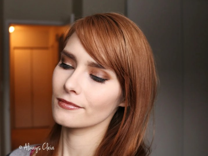 Bubbly Champagne Makeup Look | Boss Mood