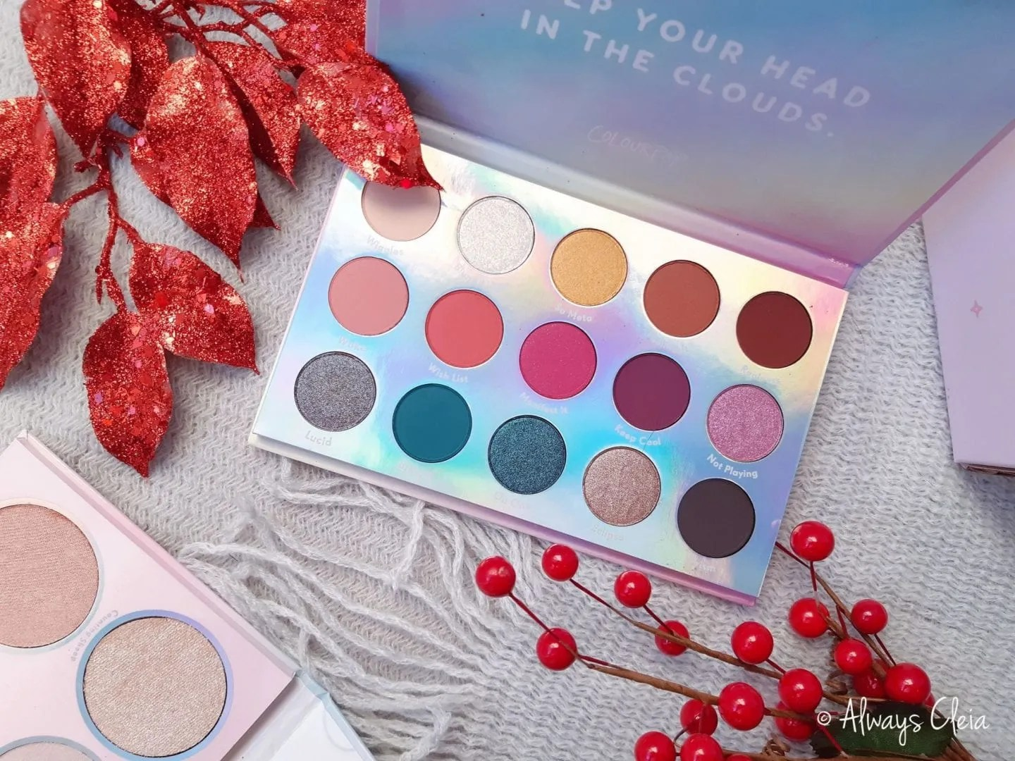 Chasing Rainbows Eyeshadow Palette Review