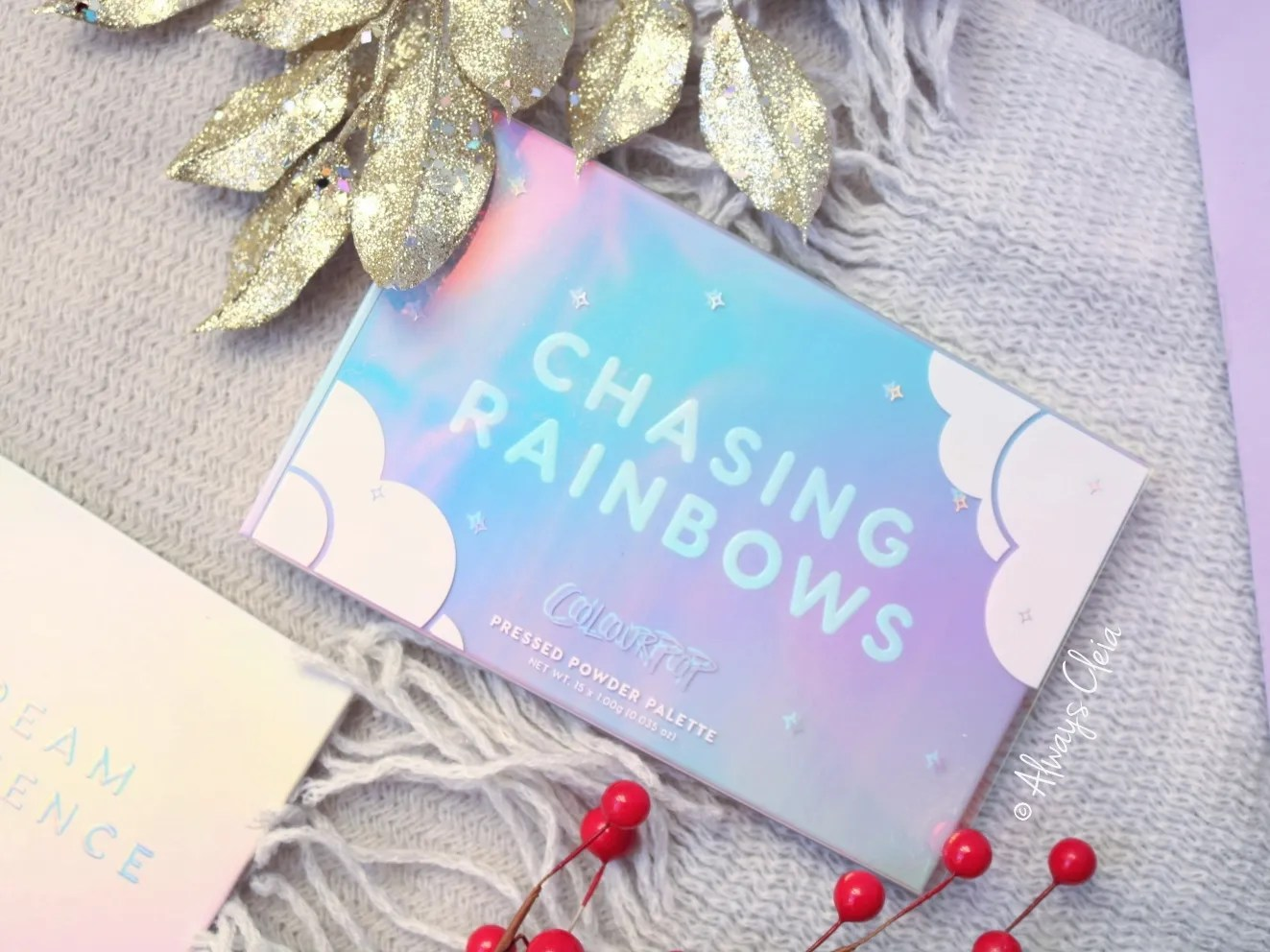 ColourPop Chasing Rainbows Holiday Collection