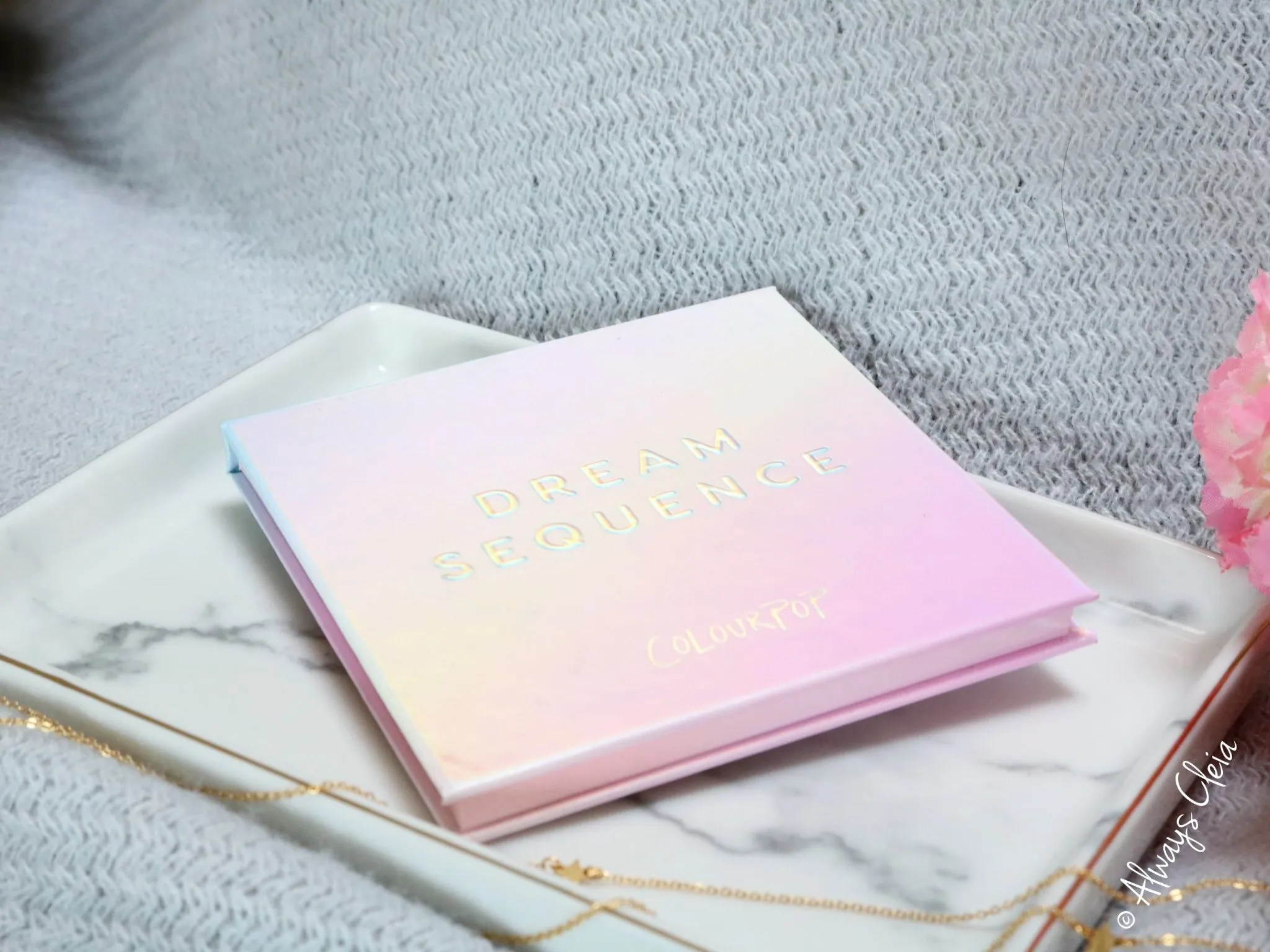 ColourPop Dream Sequence Highlighter Palette Review packaging
