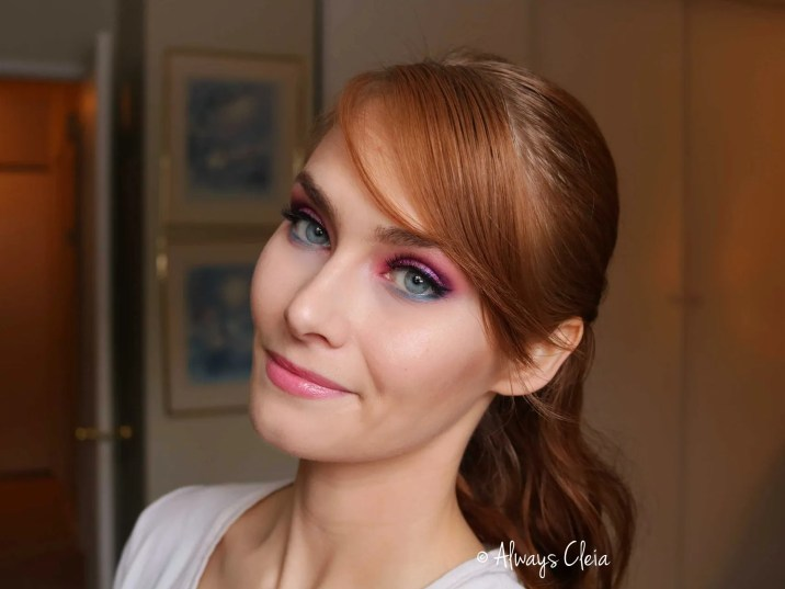 Fairy Pink Eyeshadow Look