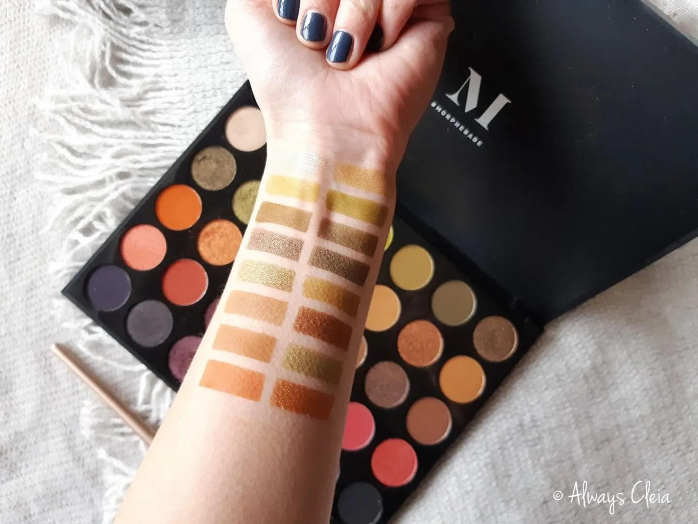 Morphe 35M Boss Mood Swatches