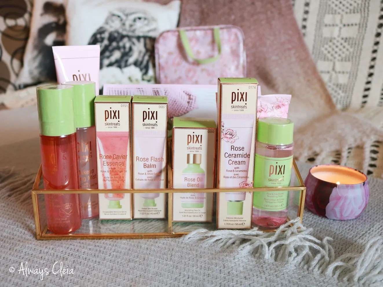 Pixi Beauty Rose Infused Skin Treats