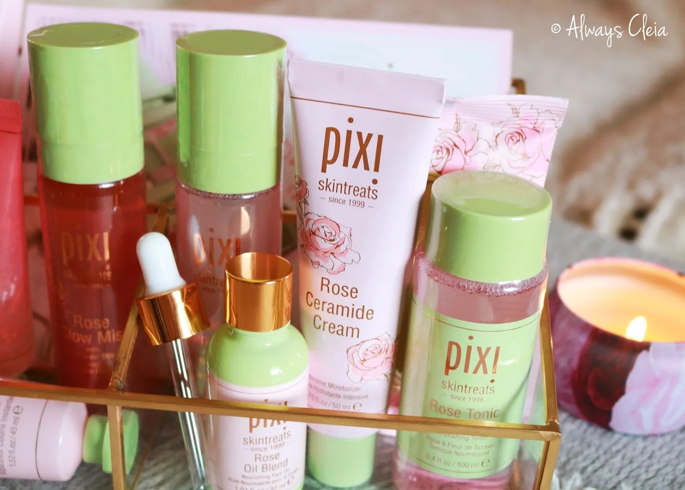 Pixi Beauty Rose Infused Skintreats PR Haul
