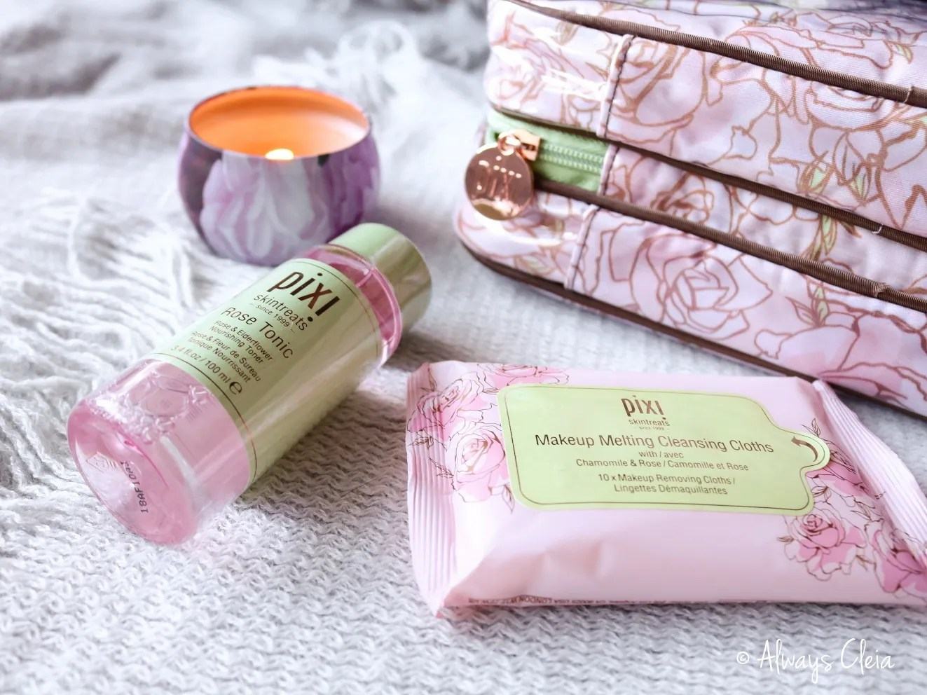 Pixi Rose Tonic & Makeup Meltaway Cloths