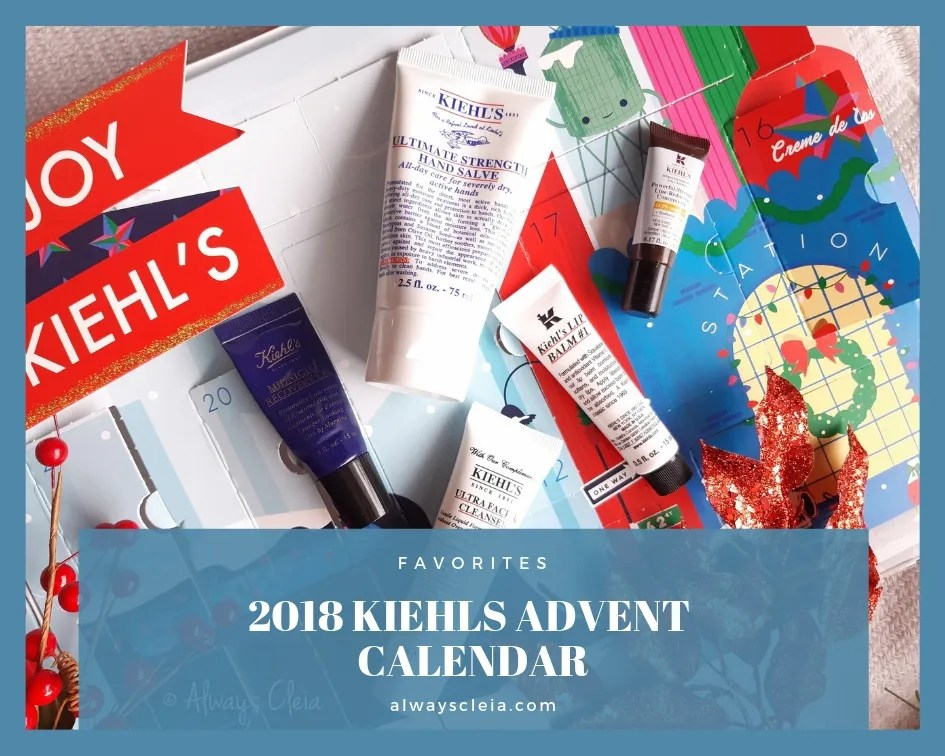 2018 Kiehls Advent Calendar Hits & Misses