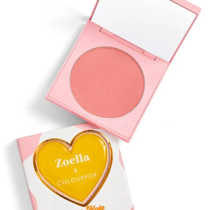 ColourPop X Zoella Brunch Date | Soul Mate Pressed Powdered Blush