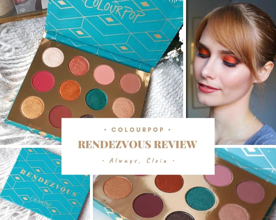 ColourPop Rendezvous Palette Review