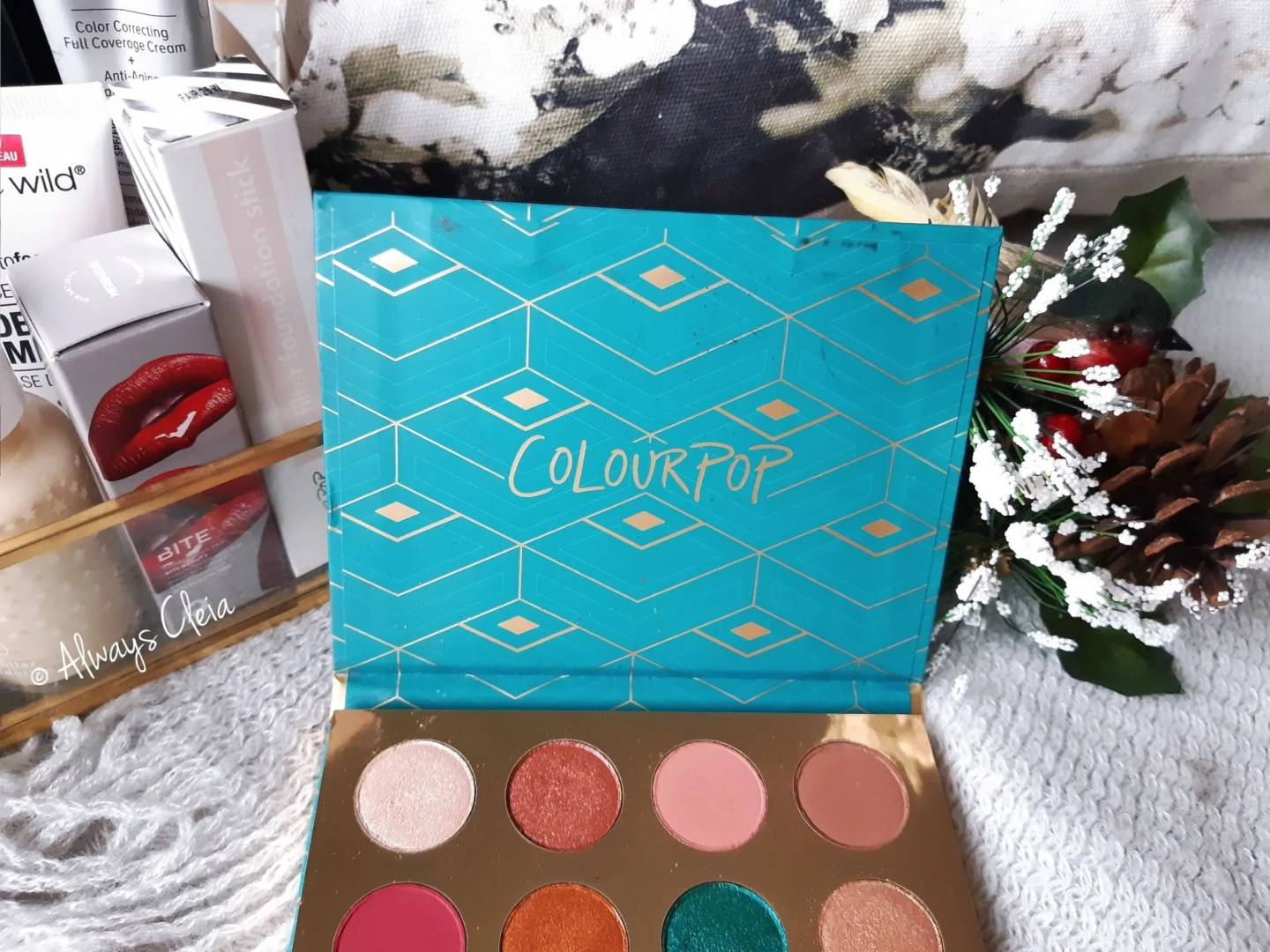 ColourPop Rendezvous Eyeshadow Palette Review
